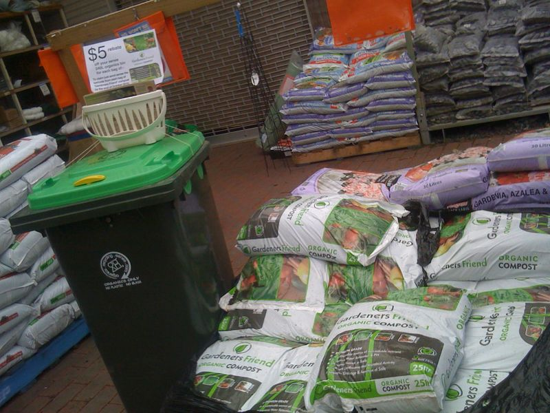 Gardeners Friend Compost at K and D stores